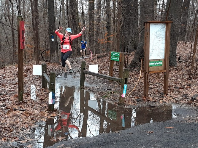 Stomping through the swamp at swamp stomper 50k
