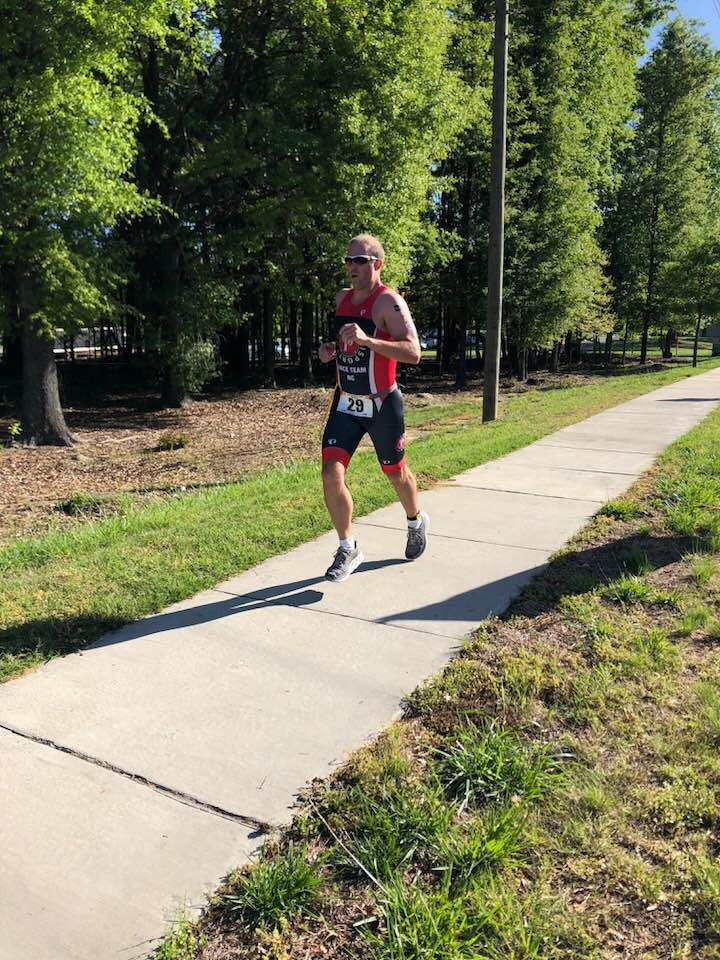2018 Huntersville NC sprint pushing to the finish