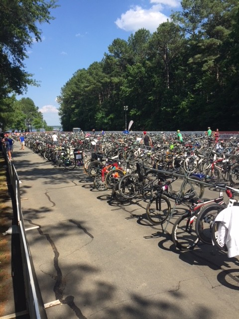 2018 Ironman 70.3 Raleigh T1 - bikes galore