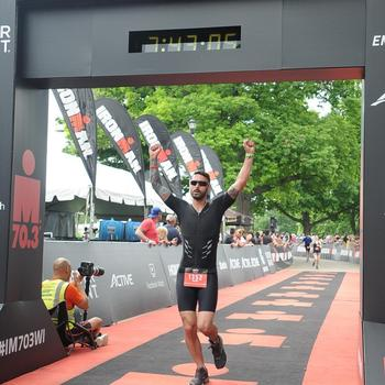 My first 70.3.