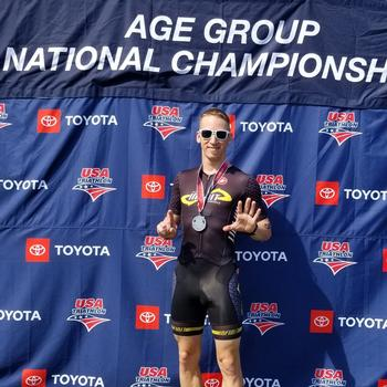 2019 USA Triathlon Olympic Distance National Championships, 6th in AG