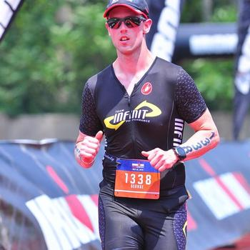 Finish at IMOhio 70.3