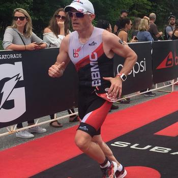 Finish Line of Ironman Muskoka 70.3 2017