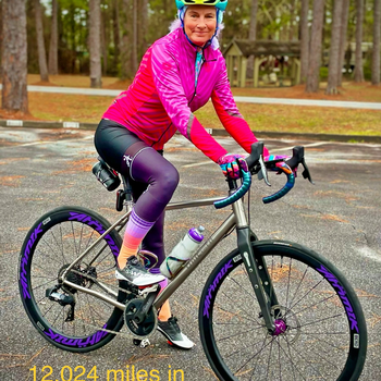 Cycling 12,000 mile for 2020