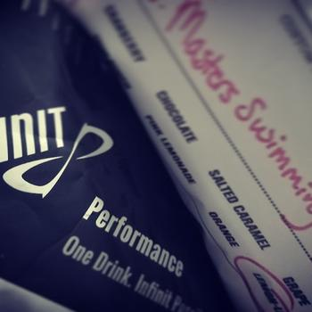 Don't train without it... keys to success include the Infinit Masters Swimming Training Mix.