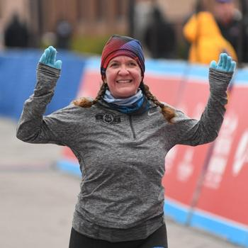 2018 Route 66 Half-Marathon Finish