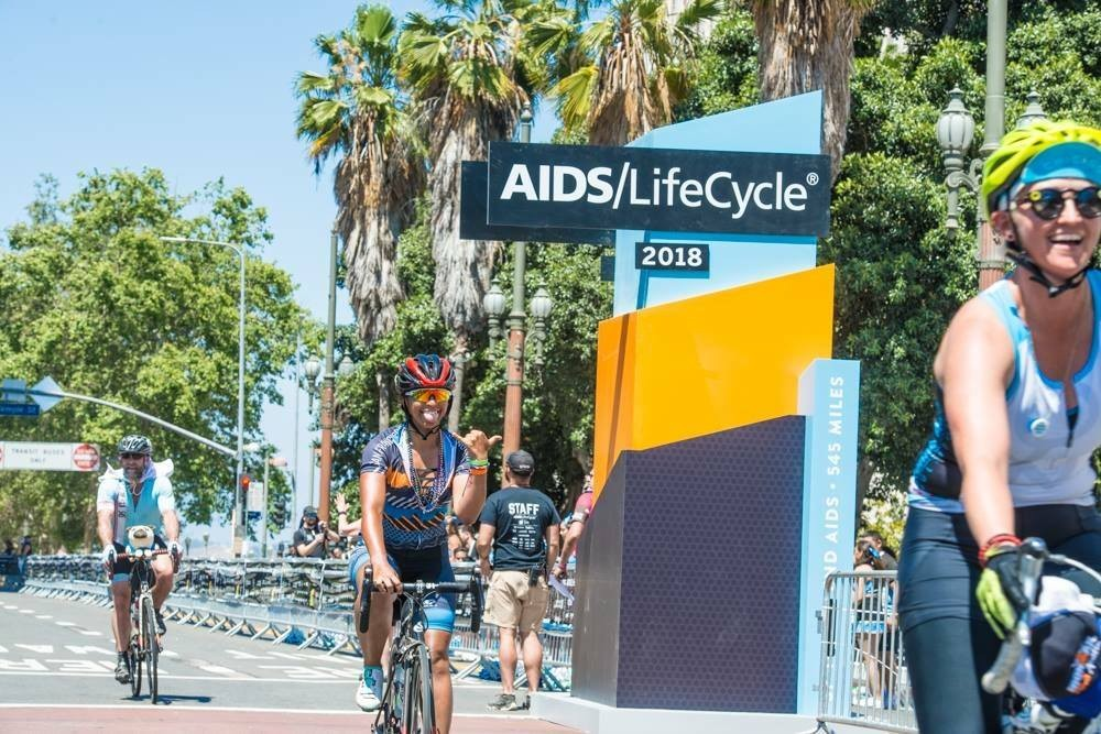 Aids Lifecycle Finish