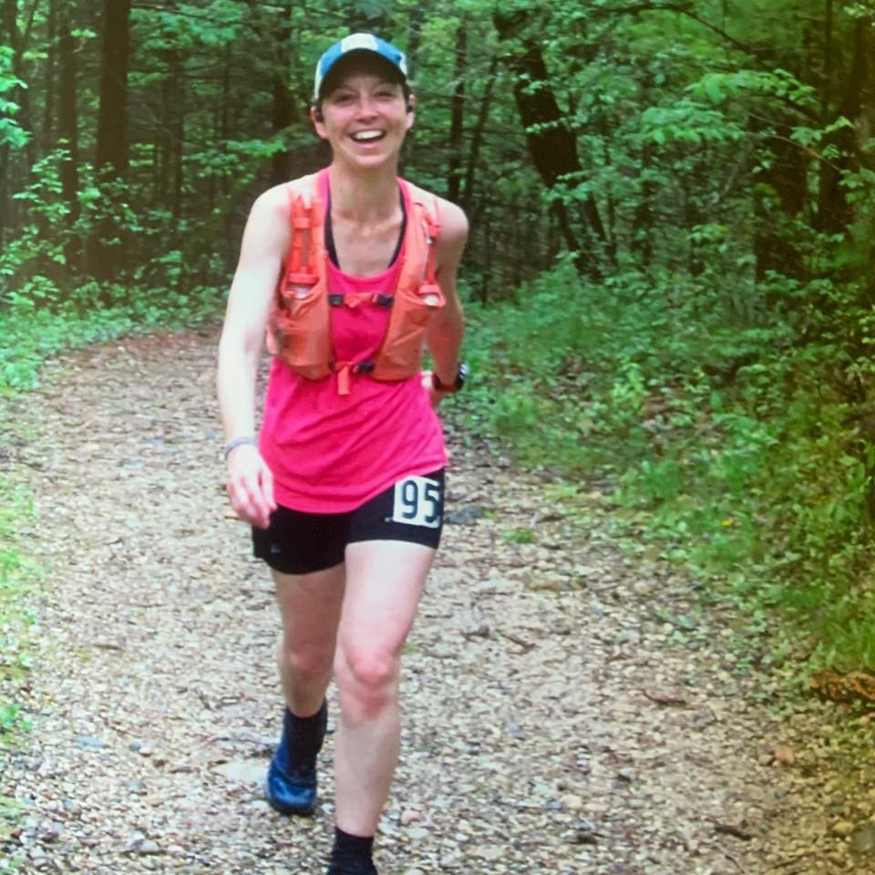 May 2019 Trail Race. I love to be out in the woods!