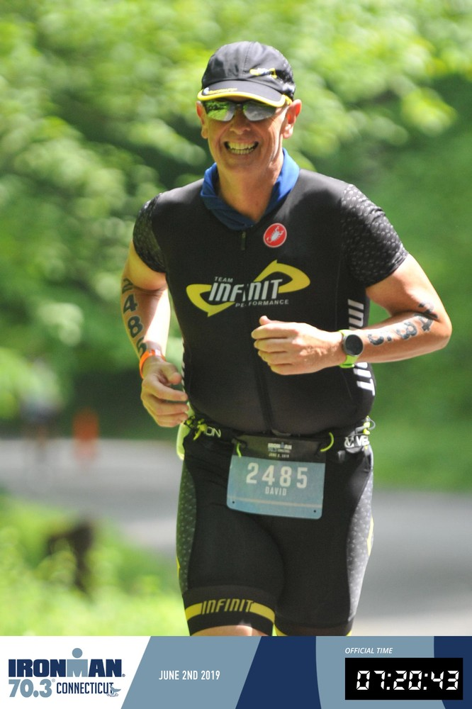 IMCT 70.3 - goodness knows why I'm smiling!