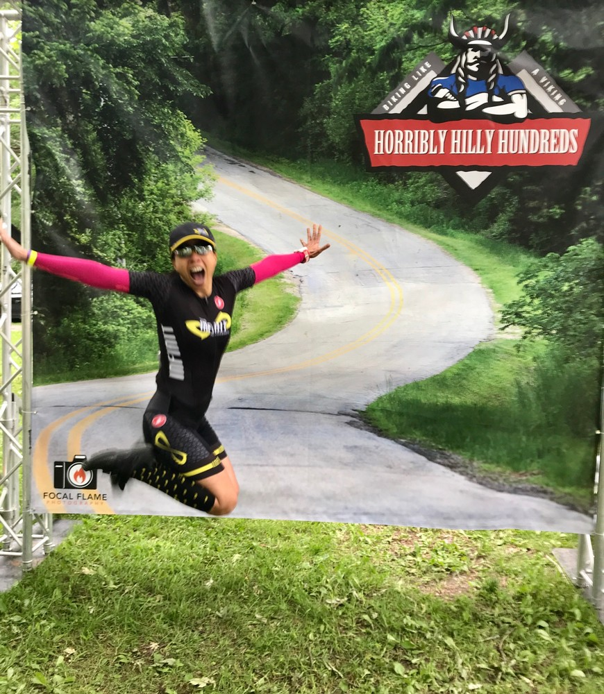 Horribly Hilly Hundreds in Blue Mounds, Wisconsin 6.15.19