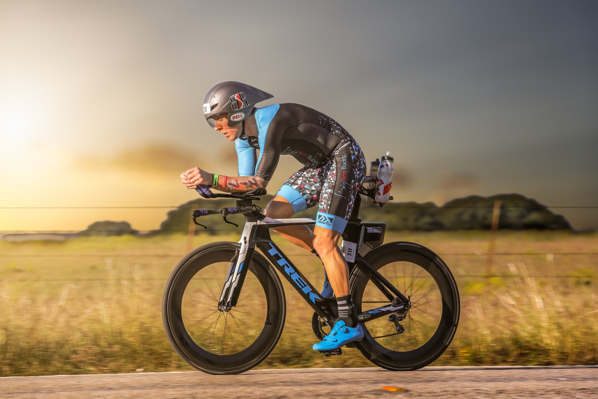 2018 IM Waco 70.3. Fastest 40-44 bike split and 4th in AG. Qualified for 70.3 IM 70.3 World Championships in Nice, France. Photo courtesy of Scott Flathouse