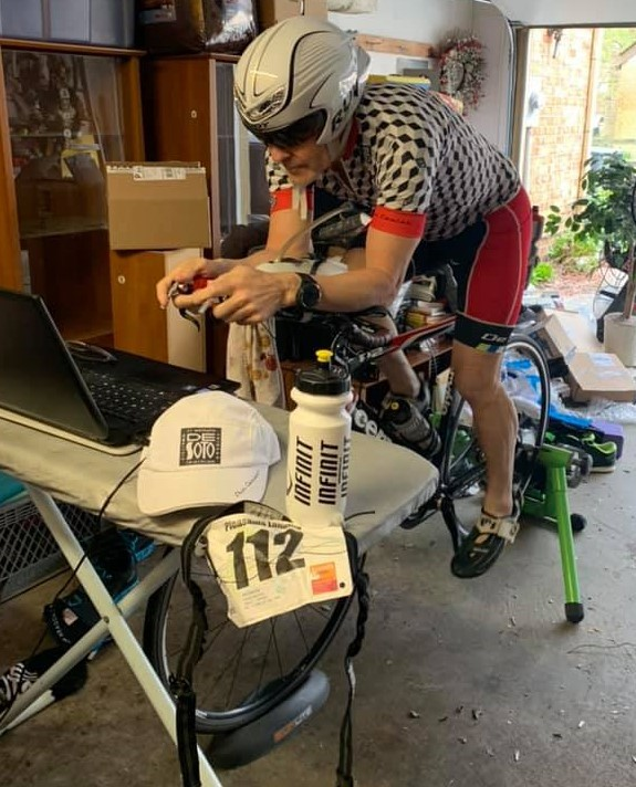 April 4, 2020 was supposed to be Smithfield Triathlon, instead turned out to be a Virtual