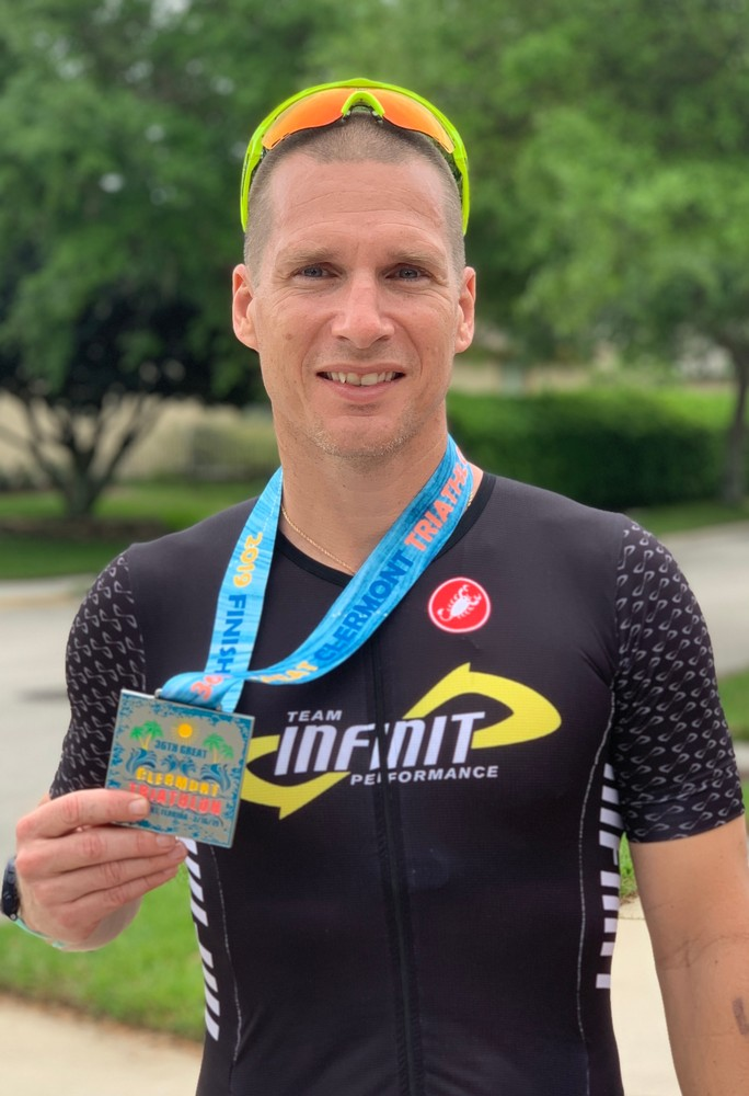 Great Clermont Triathlon - 2nd Place AG (45-49)