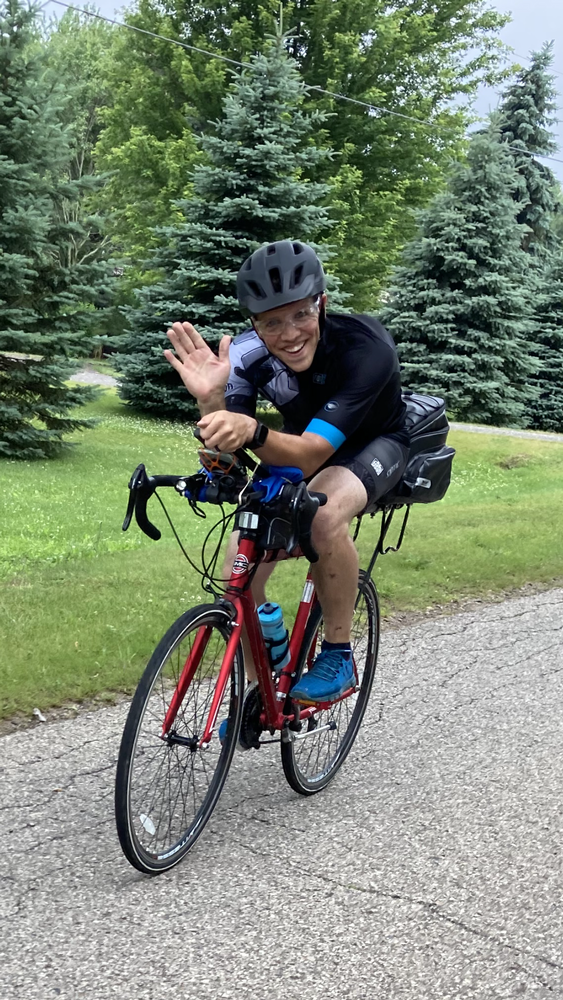 This was taken on my first outdoor Century ride.  This was also a fundraiser ride where I partnered with the Local city Mission.  The event went well, raised nearly $500 and all the donations went to the Mission.