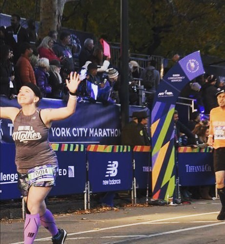 New York City Marathon finish line 2018