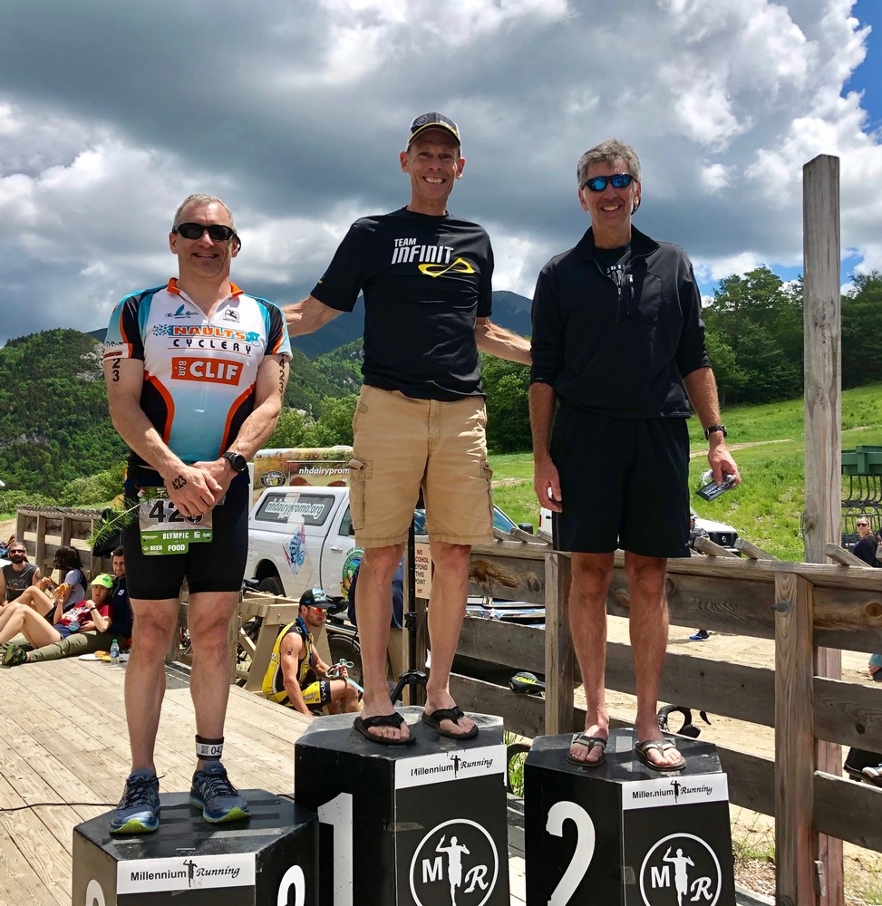 White Mountain Triathlon Podium