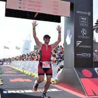 Ironman 70.3 Dubai Finish