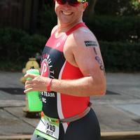 2017 IM 70.3 Augusta run happy