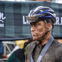 Post-Race after top 25 finish at 2017 Lutsen 99er. It rained a bit...
